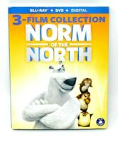Norm Of The North 3 Film Collection (Blu-ray + DVD + Digital) W/Slipcover - New