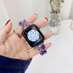 Apple Watch strap, Epoxy Resin Fashion Lightweight