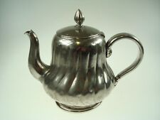 Old Small Tea Pot Galvanic Plated French Imperial Eagle Mark * 920