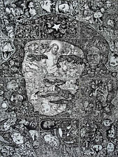 CHE Original Cuban Cuba ARTE-INFINISMO Painting Drawing FERNANDO GODERICH FABARS