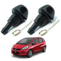 For Honda Jazz Fit 2004 - 2008 WindShield Washer Wiper Water Spray Jet Nozzle