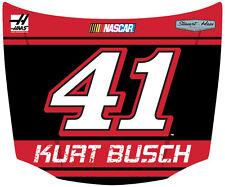 NASCAR #41 Kurt Busch Hood Shaped Magnet-NASCAR Magnet-NEW for 2016!
