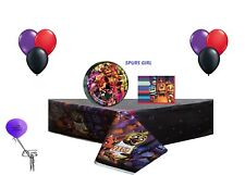 Five Nights At Freddys Party 8 Guest Party Decorating Kit ~ ***FREE SHIPPING***