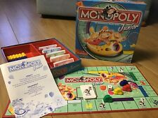Junior Monopoly - The Rollercoaster Money Board Game Excellent Condition Age 5-8