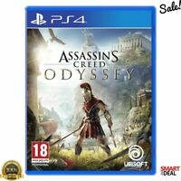 Assassins Creed Odyssey PS4 Game Playstation 4 Gaming Ancient Greece BRAND NEW