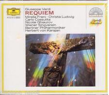 Verdi: Messa Da Requiem / Karajan, Freni, Ludwin, Ghiaurov, Cossutta- CD