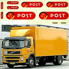 VOLVO postdanmark NEW DESIGN (DK) box camion 1:87 DECALCOMANIA