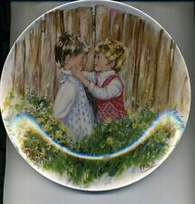1981 Be My Friend Wedgwood Collector Plate