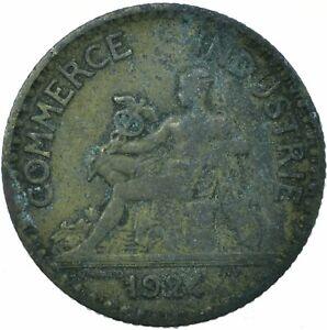COIN / FRANCE / 1 FRANC 1924 CHAMBERS DE COMMEMRCE  #WT19558