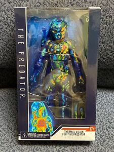 """The PREDATOR 7"""" Thermal Vision Fugitive Action Figure NECA New in Box"""