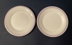 Pair of Royal Doulton H5022  Lilac Time Tea Plates