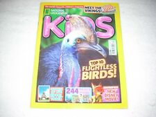 National Geographic Kids Magazine Issue 123 April 2016 Top 10 Flightless Birds