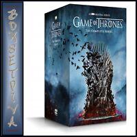 GAME OF THRONES COMPLETE SERIES SEASONS 1 2 3 4 5 6 7 8  *BRAND NEW DVD BOXSET