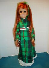 ;68-'69 Ideal Crissy Doll in Look around Dress & Shoes Growing Hair >-)'>