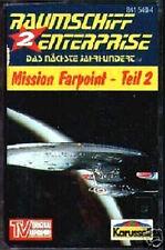 MC NEU OVP STAR TREK RAUMSCHIFF ENTERPRISE MISSION FARPOINT 2 HÖRSPIEL KASSETTE