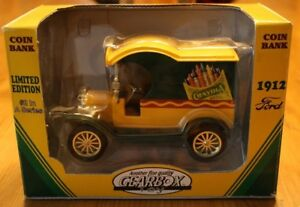 Gearbox Limited Edition 1912 Ford Delivery-Crayola 1/24 Diecast