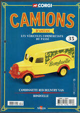 FASCICULE ALTAYA CAMIONS D'ANTAN  N°35 camionnette reo delivery van bonduelle