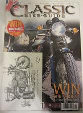 Classic Bike Guide Magazine November 2002 Testing BSA G14 V-Twin Bonnie Twins