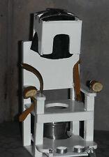 Doll miniature handcrafted Medical Hospital Asylum Hysteria chair restraint