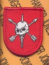 7th Special Forces Airborne Beret Flash patch #2-A CTT