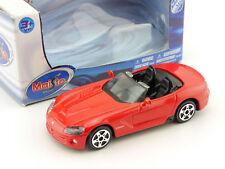 Maisto Dodge Viper SRT-10 Spider Cabrio ROT 1:43 OVP 1604-04-34