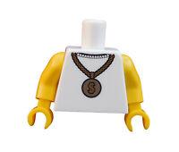 Lego Torso Oberkörper für Minifigur Rapper Musiker Serie 3 Neu 973pb0786c01