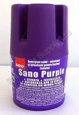 SANO PURPLE WATER TOILET BLOCK BOWL CLEANING FRESH WC tank TABLET Deodorizing