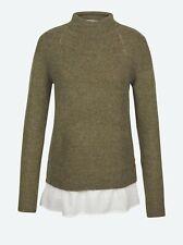 Neues AngebotFat Face-Damen-Saskia Pullover-Oliv-Größe 10-Bnwt