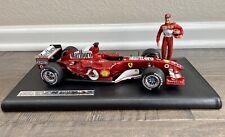 1/18 F1 Hotwheels Ferrari F2004 Seven Time WC Michael Schumacher Marlboro Conv.