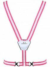 Amphipod Xinglet Lite Reflective Running Safety Vest, One Size - Pink/Silver