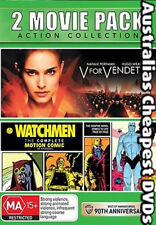 V For Vendetta / Watchmen DVD NEW, FREE POSTAGE WITHIN AUSTRALIA REGION 4