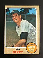 1968 Topps Ken Berry #485 Chicago White Sox