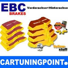 EBC Bremsbeläge VA+HA Yellowstuff für Peugeot 206 CC 2D DP41234R DP4458/2R