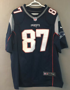 NFL New England Patriots Rob Gronkowski Nike On-Field Jersey Embroidered Large