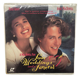 FOUR WEDDINGS AND A FUNERAL   LASERDISC LD NTSC VINTAGE
