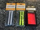 Nathan Reflective Safety Cycling AnkleBands 2 pairs 4 NEW Ankle Bands plus