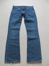 Levi's® Low Bootcut Jeans Hose, W 30 / 32, Einzelstück ! Hippie Style Denim !!