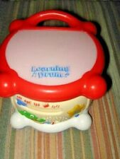 Leap Frog Learning Drum Musical Instrument 123 Abc Toy Light-up with Batteries