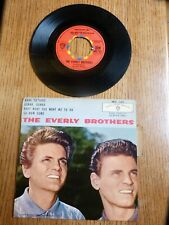DISQUE VINYLE 45 TOURS  THE EVERLY BROTHERS MADE TO LOV E