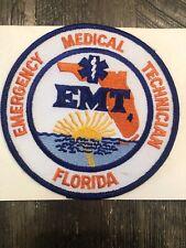 Florida Emergency Medical Technician EMT Patch