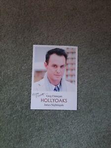 Hollyoaks Cast Card James Nightingale