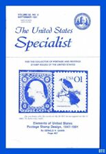 The United States Specialist September 1991 Issue Scott # 563 First Days + More