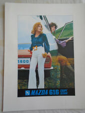 Mazda 616 Coupe Sedan brochure c1970's English text