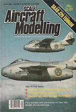 Scale Aircraft Modelling June 1984 - SAAB J29 Tunnan - BAE Nimrod MR.2P