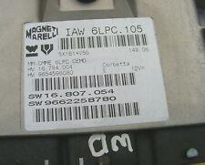 Peugeot 207 1.4 Ecu IAW6LPC.105  IAW6LPC105 ECM ref1514