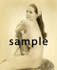 VINTAGE NUDE PHOTO OF DIANE WEBBER  8.5 X 11!  QUALITY GUARANTEED!