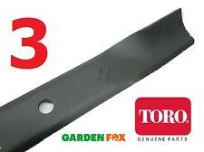 "Setof3 Genuine TORO Timemaster SW5000 50"" HI-LIFT BLADES 74680 115-5059-03 1153"