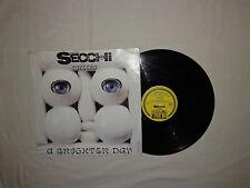 """Stefano Secchi – A Brighter Day - Disco Mix 12"""" Vinile ITALIA 1993 EuroHouse"""