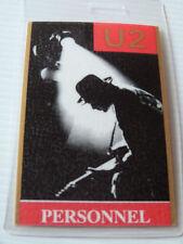 Pop Music Concert Memorabilia U2 Artists/Groups