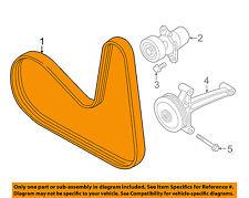 VW VOLKSWAGEN OEM 14-15 Beetle-Serpentine Drive Fan Belt 06J260849F